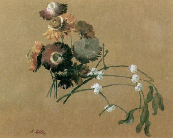 A que no adivinas quien pinto esto? Flower4